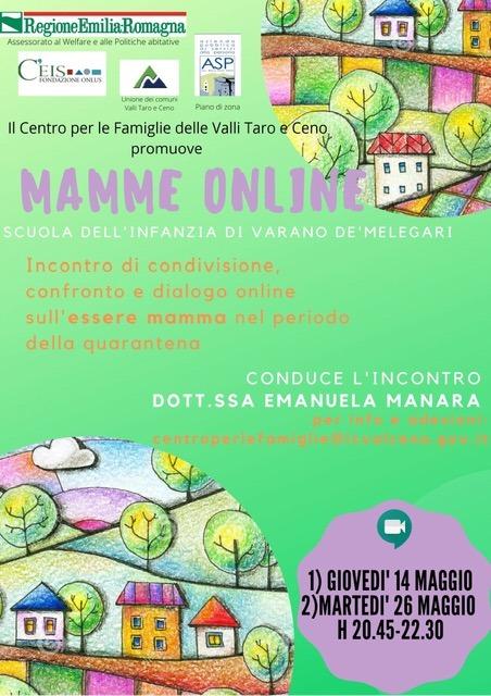 Mamme online – Scuola dell'infanzia di Varano de' Melegari
